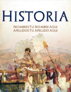 portadas de historia sobre el antiguo Egipto