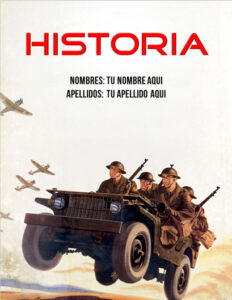 portadas de historia sobre la segunda guerra mundial