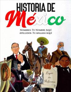 portadas de historia sobre México para niños