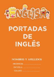 portadas de inglés creativas