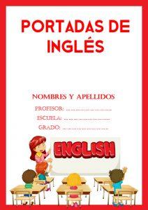 portadas de inglés para niños