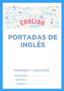 portadas de inglés