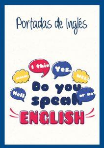 Portadas de Inglés bonitas