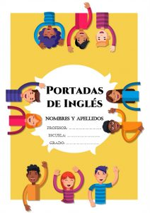 portadas para libretas de inglés