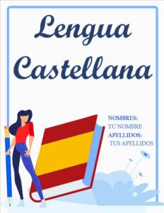 portadas de lengua castellana español
