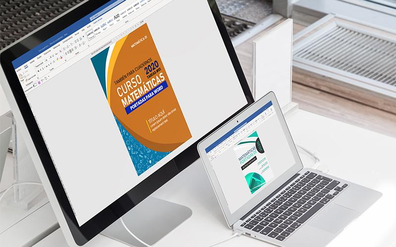 portadas de matemáticas para trabajos en word