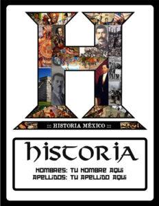 portadas sobre la historia de México para trabajos
